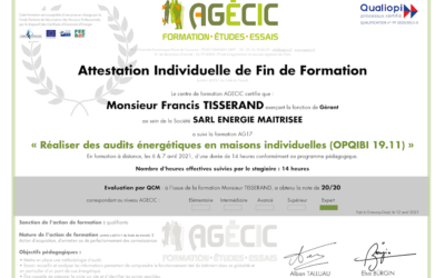 Réaliser des audits énergétiques en maisons individuelles